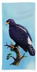 Verreaux's Eagle  Beach Sheet by Anthony Mwangi