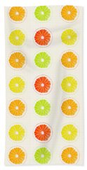 Juicy Citrus Beach Towel