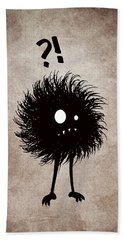 Gothic Wondering Evil Bug Character Beach Towel