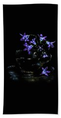 Beach Towel featuring the photograph Bluebells by Alexey Kljatov