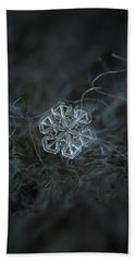 Snowflake Photo - Alcor Beach Towel by Alexey Kljatov