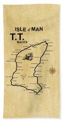 Isle Of Man Tt Beach Towel