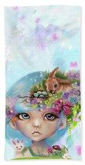 Eliza - Easter Elf - Munhkinz Character Beach Sheet