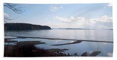Beach Sheet featuring the photograph Rock Point North View Horizontal by Felipe Adan Lerma