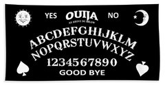 Beach Towel featuring the digital art Ouija by Nicklas Gustafsson