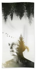Beach Towel featuring the photograph Soul Of Nature by Nicklas Gustafsson