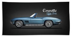 The 67 Corvette Stingray Beach Towel