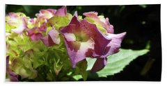 Hydrangea Flowers Fit For A Fairy Beach Towel