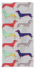 Dachshunds Beach Towel