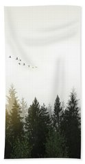 Beach Towel featuring the photograph Forest by Nicklas Gustafsson
