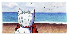 Kiniart Beach Blanket Westie Beach Towel