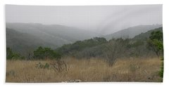 Beach Towel featuring the photograph Road To Lost Maples by Felipe Adan Lerma