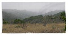 Road To Lost Maples Beach Towel by Felipe Adan Lerma