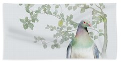 Wood Pigeon Beach Sheet