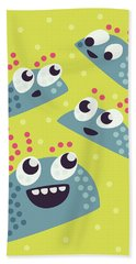 Kawaii Cute Candy Friends Beach Sheet