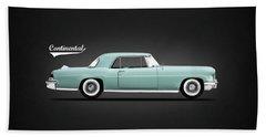 Lincoln Continental Mk2 1956 Beach Towel