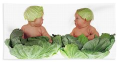 Cabbage Kids Beach Towel
