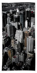 Beach Towel featuring the photograph Boxes Of Manhattan by Nicklas Gustafsson