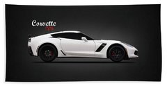 Corvette Z06 Beach Towel