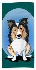 Kiniart Sheltie Beach Towel