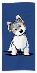 Cosmo Kiniart Petcature Portrait Beach Towel