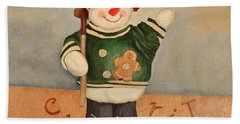 Snowman Junior Beach Towel