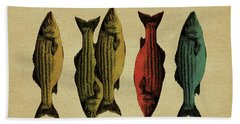 One Fish, Two Fish . . . Beach Towel by Meg Shearer