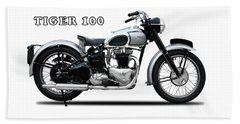 The Tiger 100 1949 Beach Towel