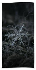 Snowflake 2 Of 19 March 2013 Beach Towel by Alexey Kljatov