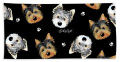 Cosmo And Chewie Portrait Beach Towel