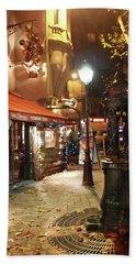 Place St Michel To Rue Saint-andre Des Arts Beach Sheet