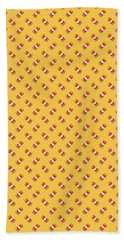 Burger Isometric Deconstructed - Yellow Beach Towel
