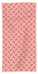 Burger Isometric Deconstructed - Salmon Beach Towel