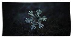 Real Snowflake - Ice Crown New Beach Sheet