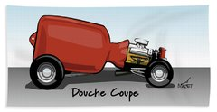 Douche Coupe Beach Towel