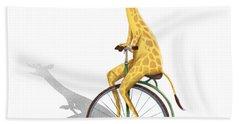 Ride My Bike Beach Towel