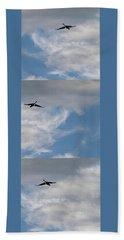 Airplane Blueprint 2 - Beach Towel