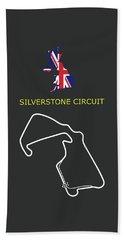 The Silverstone Circuit Beach Towel