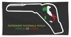 The Autodromo Nazionale Monza Beach Towel