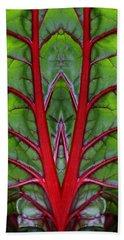 Leaf Of Life Beach Towel