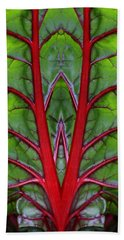 Leaf Of Life Beach Sheet