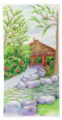 Pavilion Pathway Beach Towel