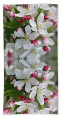 Crabapple Blossoms 12 - Beach Towel