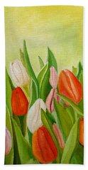 Colors Of Spring Beach Towel