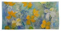 Blossoms In Breeze Beach Towel