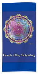 Derek Soul Portrait Beach Towel