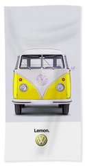 Lemon Beach Towel by Mark Rogan