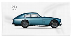 Aston Martin Db2 Beach Towel