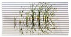 Graceful Grass - The Slat Collection Beach Sheet