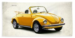 Vw Beetle 1972 Beach Towel